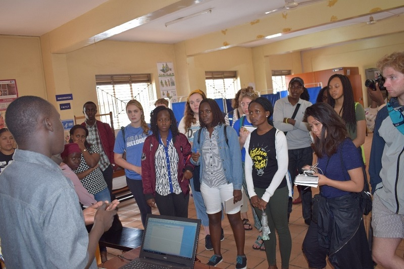 Drake University Students and Faculty Visit Reach Out Mbuya