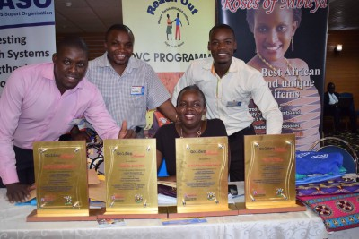 MAUL awards all 4 ROM sites Golden Awards for Outstanding Performance in Logistics Management of HIV/AIDS commodities