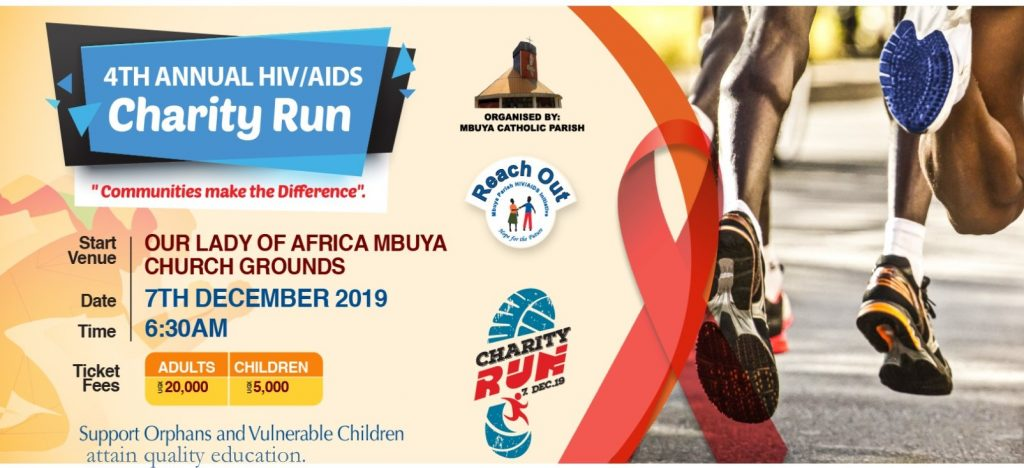 4th Annual HIV/AIDS Charity Run 2019