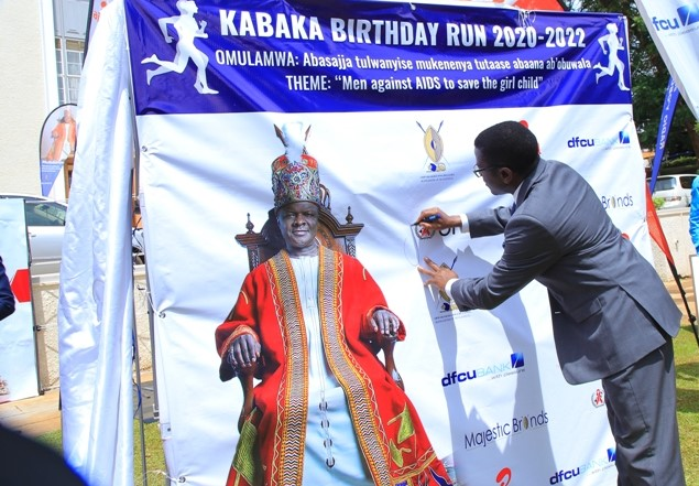 Reach Out Mbuya Parish HIV/AIDS Initiative joins stakeholders for the Kabaka Run 2020