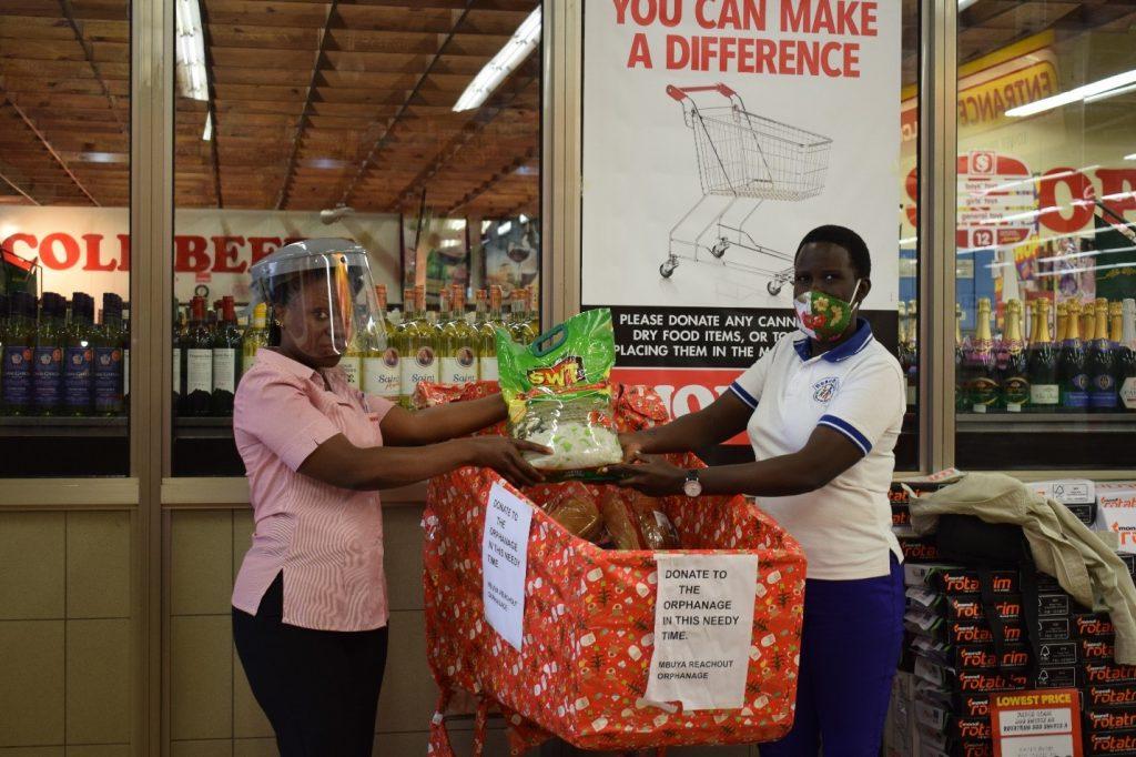 Thank you Shoprite Supermarket Lugogo Branch