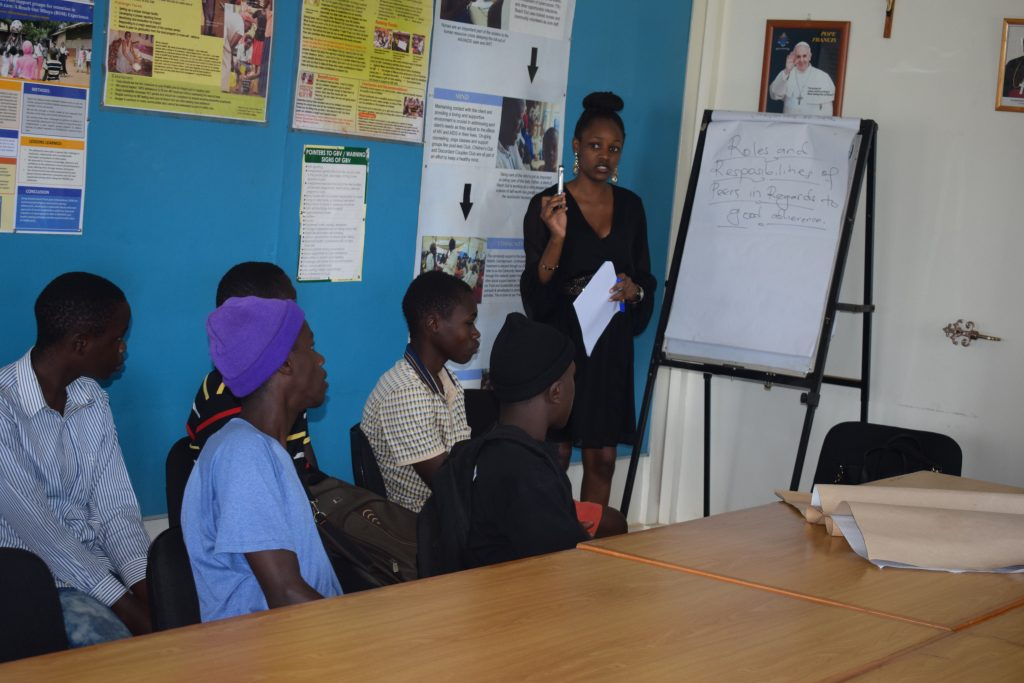 ROM provides peer support for adolescents and young people living with HIV