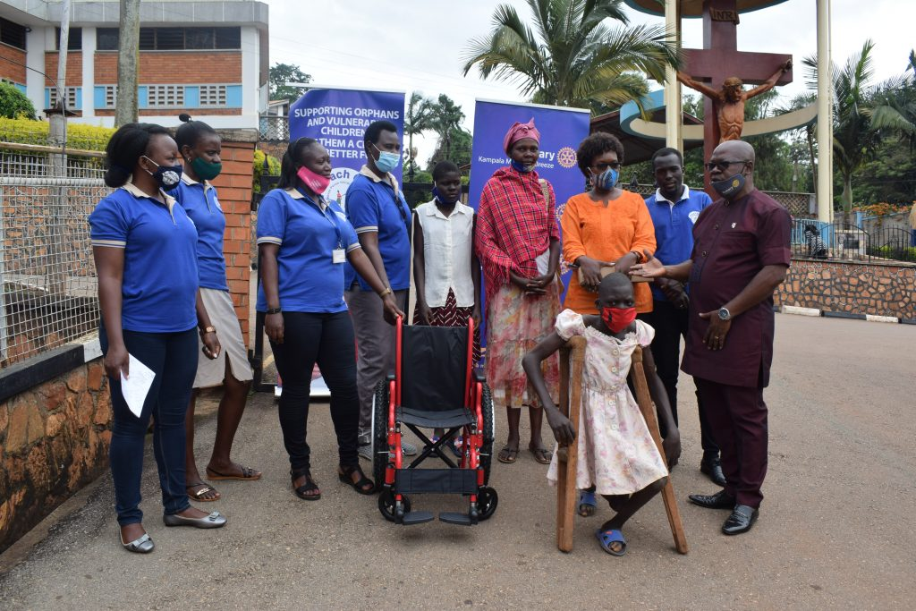 12-year-old receives wheelchair: International Day of Persons with Disabilities (IDPD), 3 December 2020