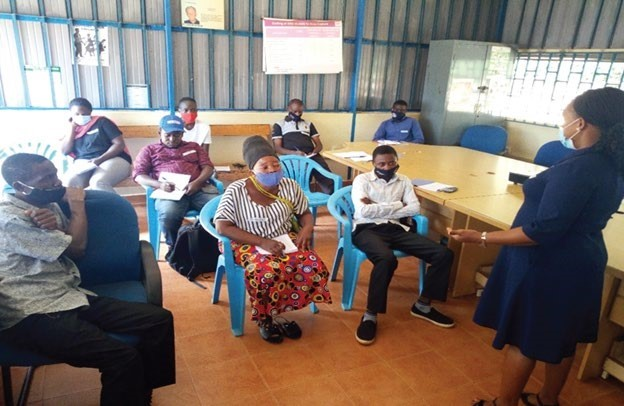 Linking VSLA groups to other services through Village Agents